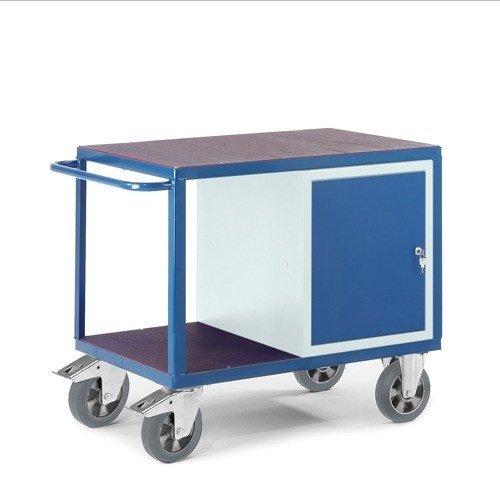 ROLLCART Werkplaatswagen met stalen kast (zwaarlast)
