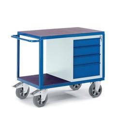 Werkplaatswagen met ladenkast (zwaarlast)