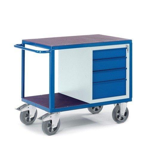 ROLLCART Werkplaatswagen met ladenkast (zwaarlast)