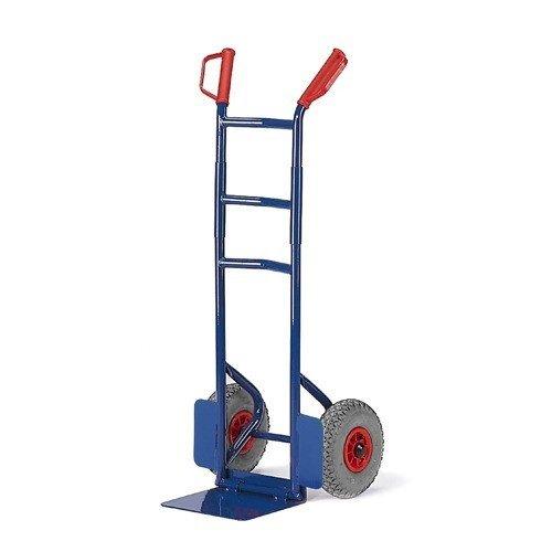 ROLLCART Opklapbare steekwagen op volrubber banden
