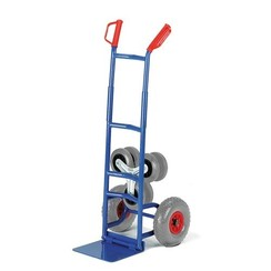 Inklapbare trappensteekwagen met verwisselbare banden