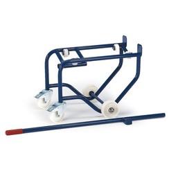 Vatenkantelaar op kunststof rollers voor vat 50-100 ltr.