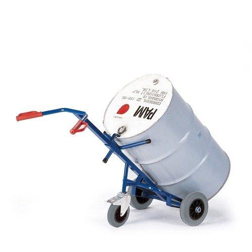 ROLLCART Vatensteekwagen met 1 steunwiel en volrubber banden