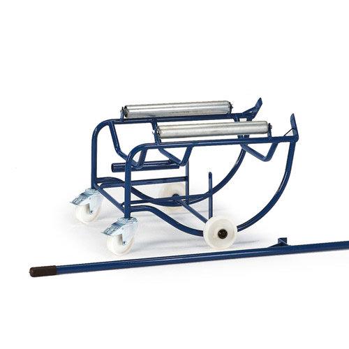 ROLLCART Vatenkantelaar op kunststof rollers voor vat 50-100 ltr.