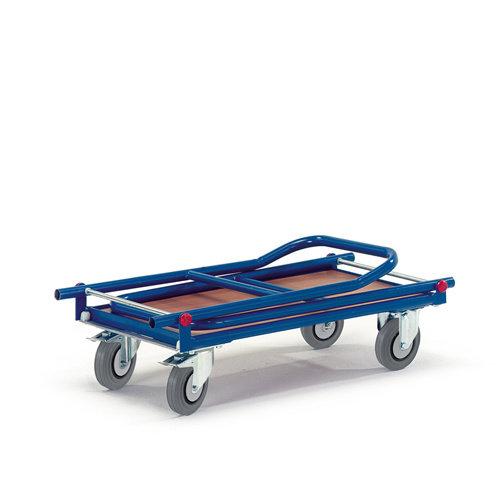 ROLLCART Platformwagen 2 duwbeugels opklapbaar