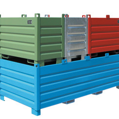 Inzamelcontainer-systeem Type SBS