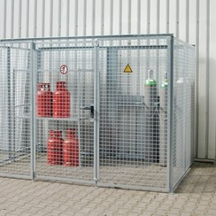 Gasflessen-opslagcontainer Type GFC-M