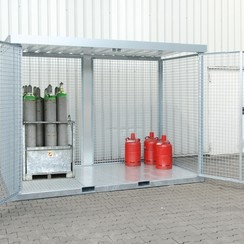 Gasflessen-opslagcontainer Type GFC-E