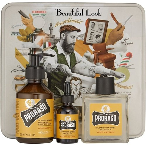 Proraso Proraso Cadeauset Baardverzorging Wood & Spice