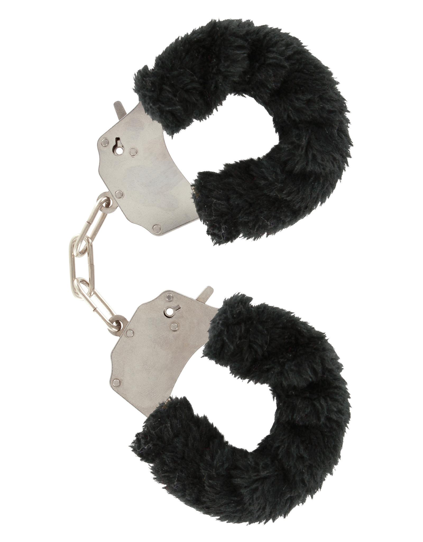 ToyJoy Furry fun cuffs - Black