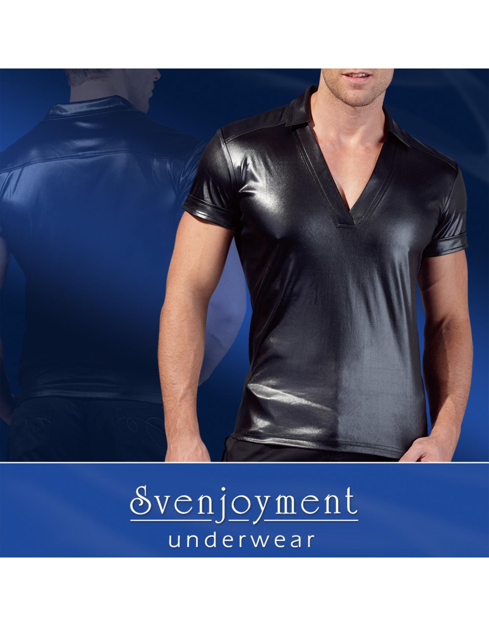 Svenjoyment Wetlook shirt