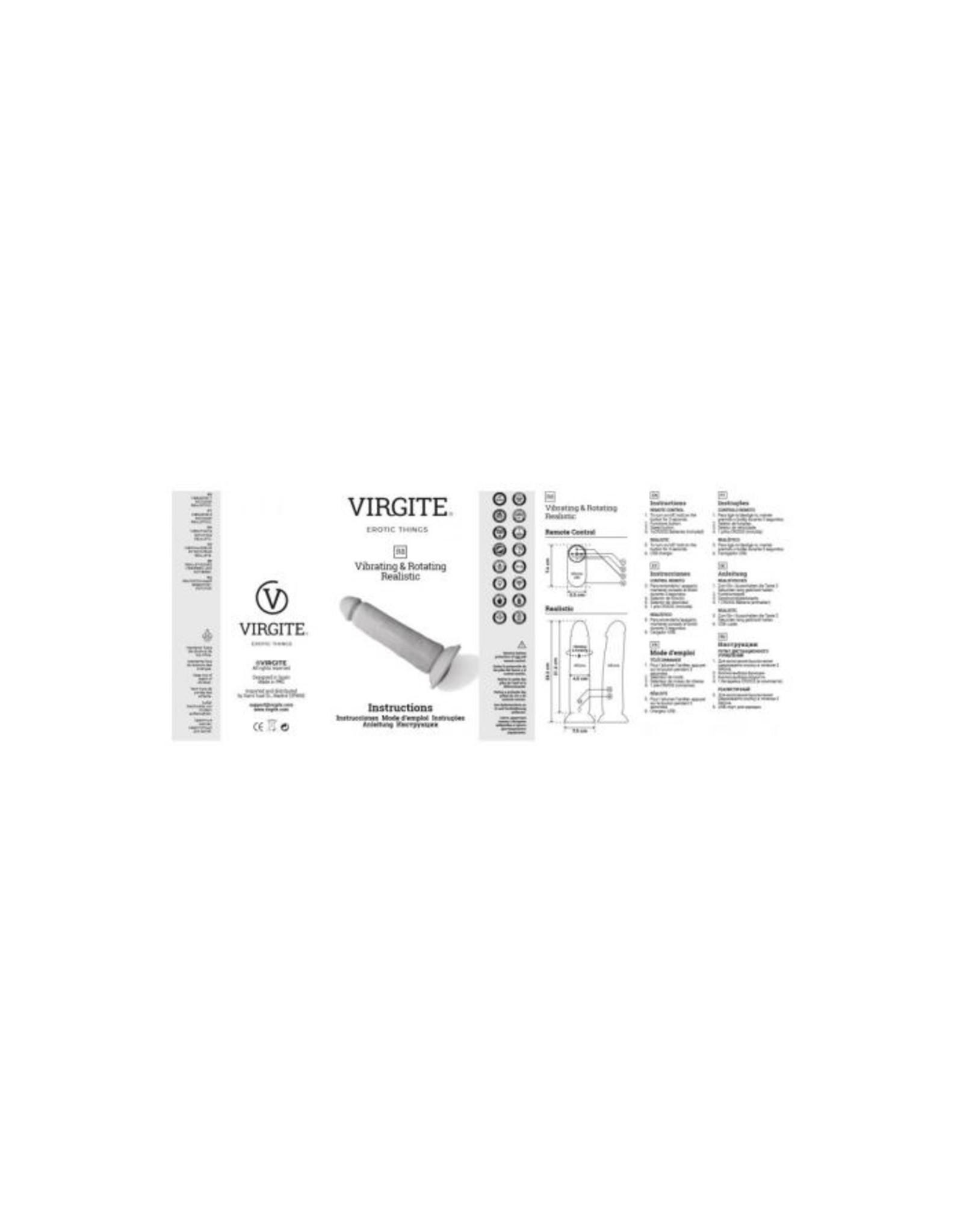 Virgite R8 vibrating & rotating realistic