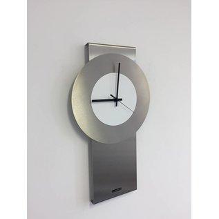 Klokkendiscounter Wanduhr Pendulum White