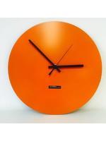 Klokkendiscounter Oranje Wandklok