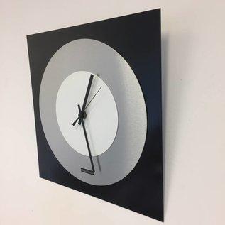 Klokkendiscounter Wanduhr TOPAZ Black and White