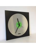 Klokkendiscounter Wandklok TOPAZ Black and Green