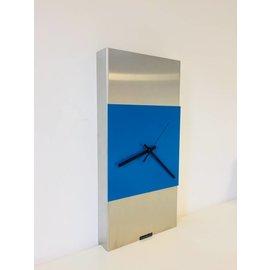 Klokkendiscounter Wanduhr Extravaganz Blau