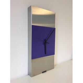 Klokkendiscounter Wandklok ExtraVaganza  Purple