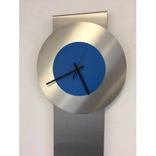 Klokkendiscounter Wandklok Pendulum Blue