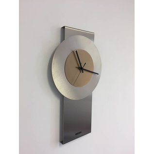 Klokkendiscounter Wandklok Pendulum Gold