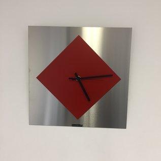 Klokkendiscounter Wanduhr Red Window