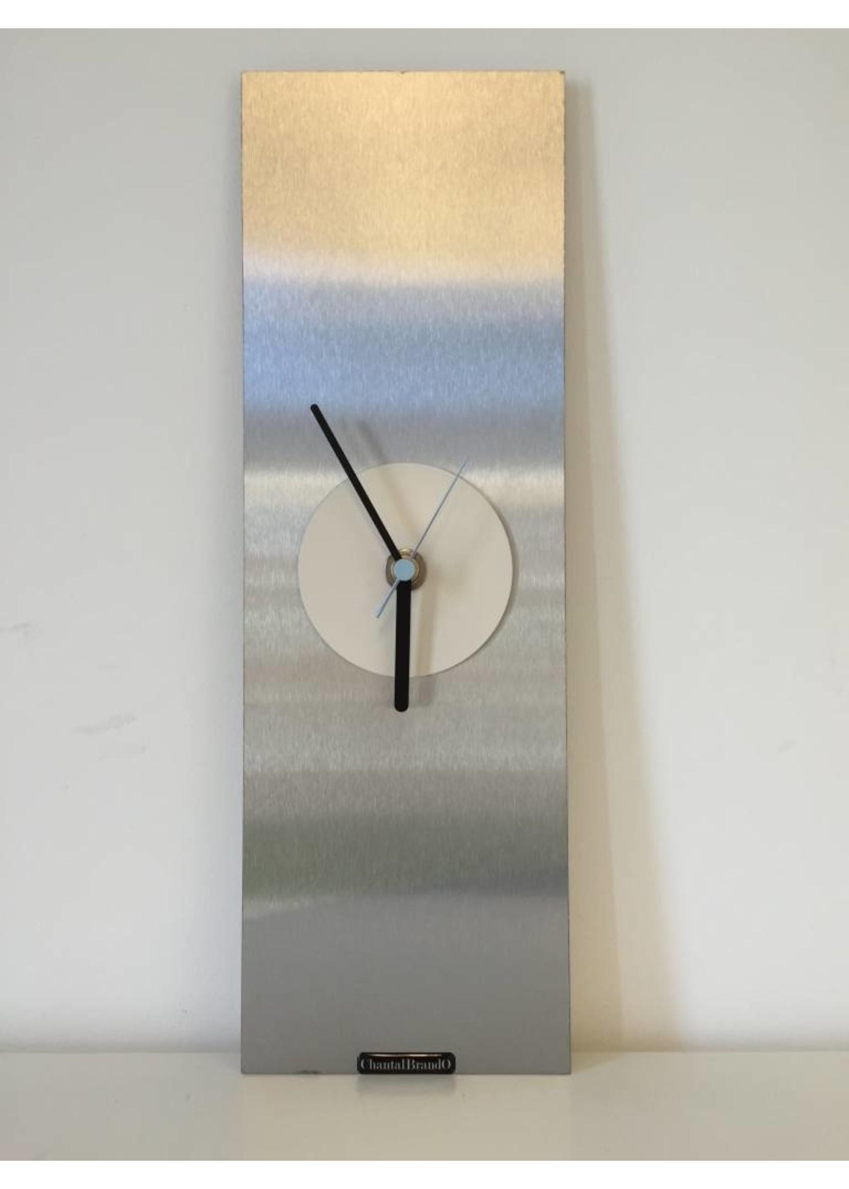 Klokkendiscounter Wandklok White Eye Modern Design