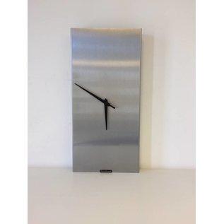 Klokkendiscounter Wandklok RVS Bologna Design