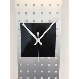 Klokkendiscounter Wanduhr Perfor Design Black Square