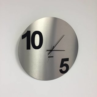 Klokkendiscounter Wanduhr Rond TEN-FIVE Modern Design