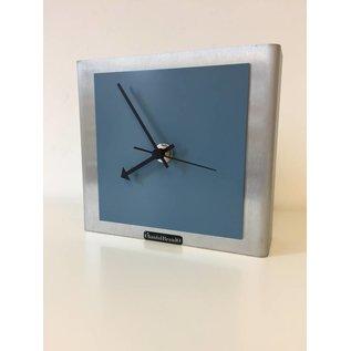 Klokkendiscounter Tischuhr NIKE DESIGN STEEL BLUE