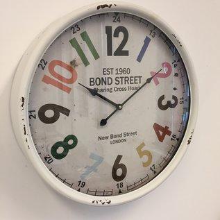 NiceTime Wandklok Bondstreet