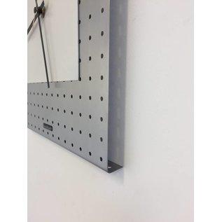 Klokkendiscounter Wanduhr Edelstahl Maastricht Design