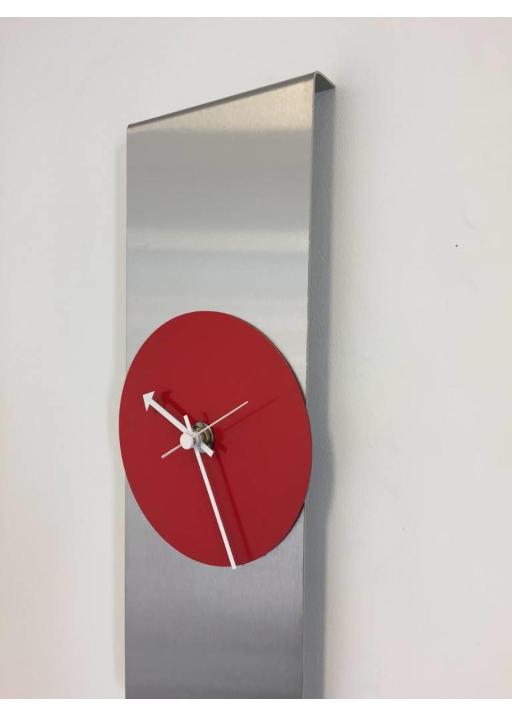 Klokkendiscounter Wandklok Red Circle