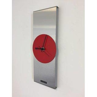 Klokkendiscounter Wanduhr Red Circle & Black