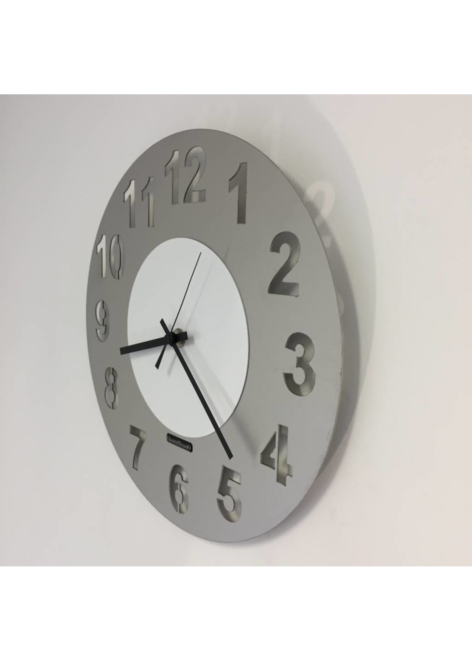 Klokkendiscounter WANDKLOK JUNTE WHITE DESIGN