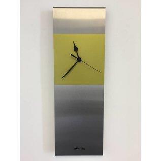 Klokkendiscounter Wandklok Cassiopee Lime Green Modern Design