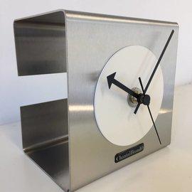Klokkendiscounter Tischuhr Der White Cube