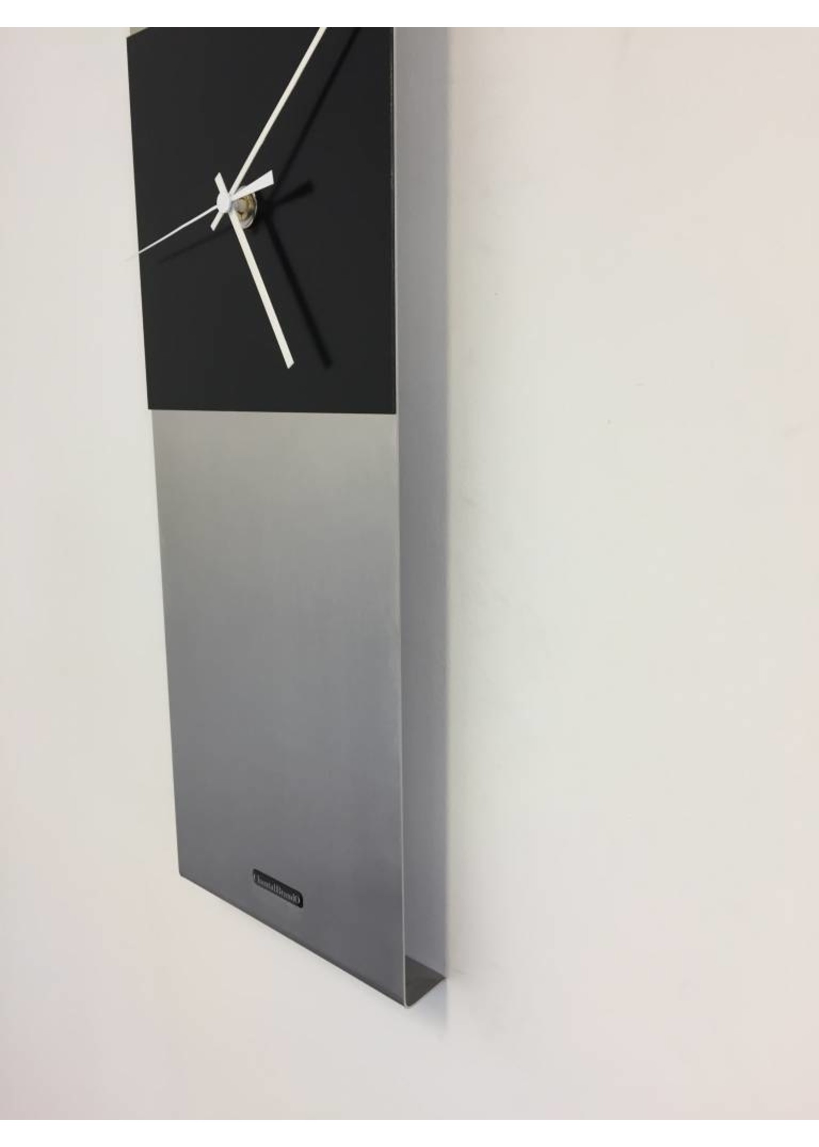 Klokkendiscounter Wandklok Cassiopee Black Square XL