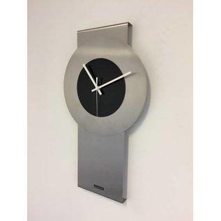 Klokkendiscounter Wandklok Pendulum Black