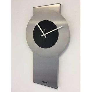 Klokkendiscounter Wanduhr Pendulum Black