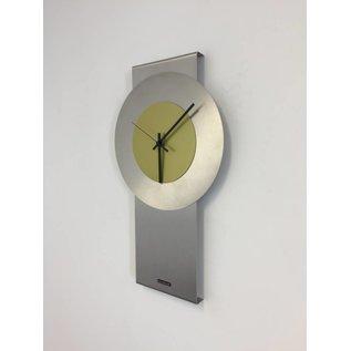 Klokkendiscounter Wandklok Pendulum Lime-Green