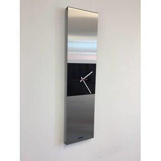Klokkendiscounter Wanduhr Heart of the Sunrise Black & Red pointer