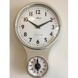 Atlanta Keukenklok met timer