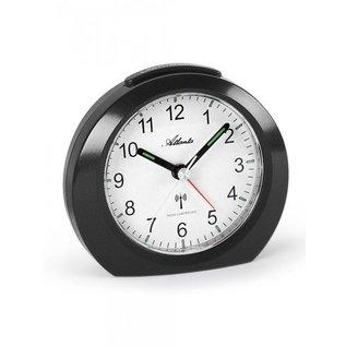 Atlanta Alarm wekker in de kleur zwart