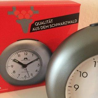 Atlanta Tijdseinwekker Made in Germany titaniumkleur
