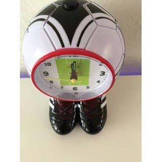 Atlanta Kinderwecker voetbal met voetbalschoenen