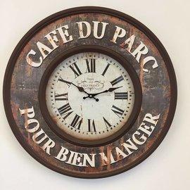 NiceTime Wanduhr Cafe de Paris Retro