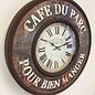 NiceTime Wandklok Cafe de Paris vintage retro