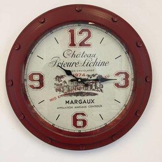 NiceTime Wandklok Chateau Margaux