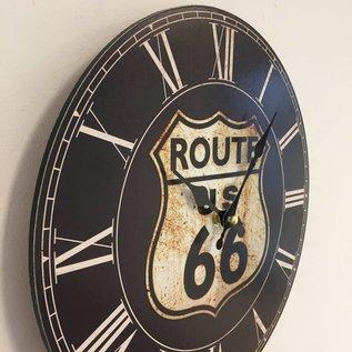 NiceTime Wanduhr USA Route 66